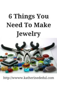 Making jewelry pieces doesn't have to be complex, click here to find out how to get started with just six things!