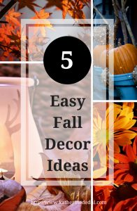 Fall is a wonderful season to decorate in, but it can get pricey. Check out my favorite ideas to easily spruce up your home for the fall season!