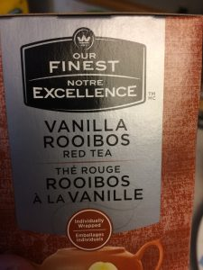 I used the Vanilla Roobois sold under the Finest Excellence Brand at Warlmart