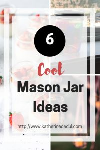 Mason Jars are a super simple and easy way to accent decor or show off your favorite dishes, check out six of my favorite ways to use them here!