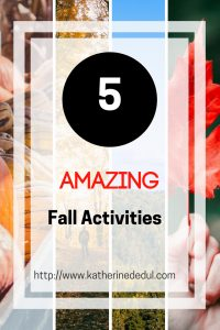 Fall is an amazing season! The weather is usually cooler and the scenery is alive with brilliant colours! Check out some amazing ways to get the most of the season!