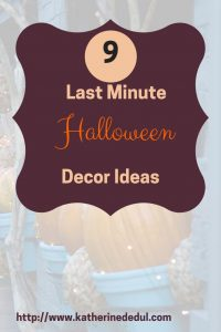 It's never too late to decorate for Halloween, check out my decor ideas!