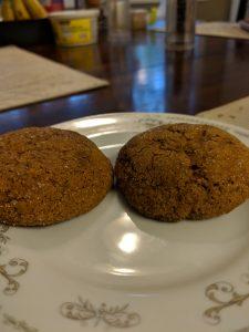 Pumpkin ginger cookies? Yes please!