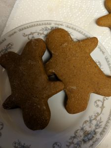 Gingerbread cookies are so Christmas, this recipe is amazing!