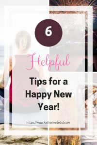 2019 doesn't have to be a scary year, check out my helpful tips to ring in the new year and start off on the right foot!