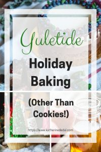 Holiday baking doesn't just have to be about cookies, check out my favorite non-cookie picks!