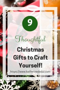 Have you ever thought of crafting your own gifts? It need not be complex, check out my ideas for inspiration here!