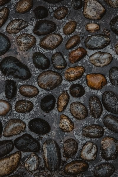Pebbles can be used in landscaping to create beautiful outdoor spaces