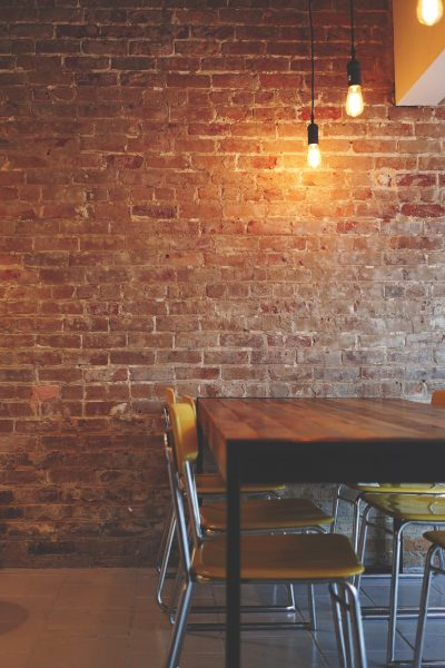Industrial decor is all about exposed brick and the unfinished look, which can look amazing!