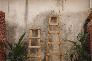 Ladders can be upcycled too!