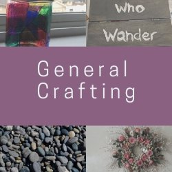 Check out my general crafting posts!