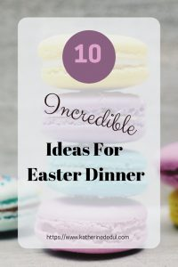 Easter food planning can be tough, check out my inspiring dishes!
