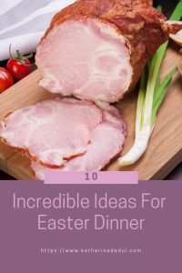 Easter food can be fun to prepare and serve, check out my tips!