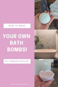 Want to learn how to make your own bath bombs? Check this article out!