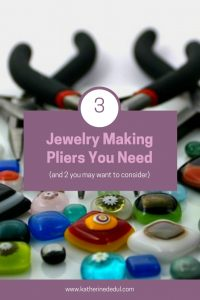 Jewelry making pliers are essential to most beading projects!