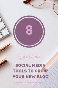 Grow your blog traffic with social media, check out my favorite tools!