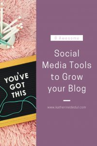 Social media tools can help you use social media to benefit your blog, check out my tips!