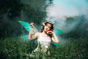 In fantasy stories, you may wish to incorporate fictional races, like fairies!