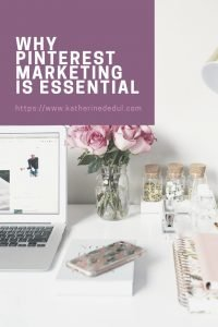 Pinterest marketing is essential to growing blog traffic