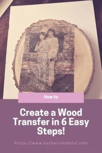 Wood transfer pinterest image