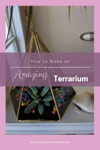Check out my post on how to DIY your very own terrarium!