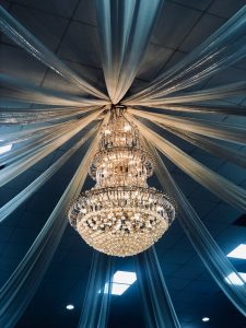 There's nothing quite like a stunning chandelier to brighten up a room!