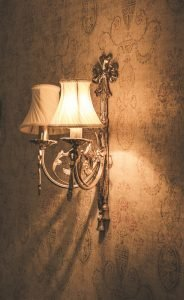 Light sconces are great for lighting up hallways