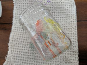 Add some rubbing alcohol and begin to watch your patterns blend together!