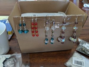 Crystal earrings are beautiful pieces to wear, check out how to make these four different types!