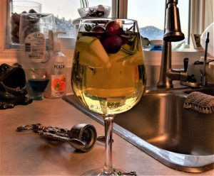 For those who like a holiday drink, look no further than this sangria recipe!