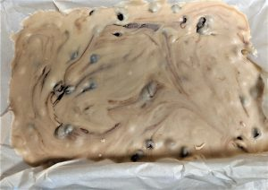 This fudge tastes EXACTLY like chocolate chip cookie dough!