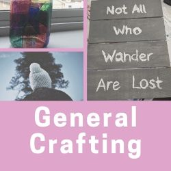 Click here to access my crafting posts, tutorials and roundups
