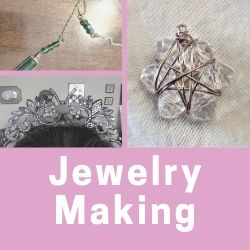 Click here to check out my Jewelry Making posts and tutorials
