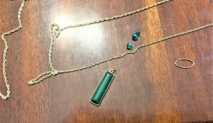 To get started with this necklace craft, you don't need a lot!