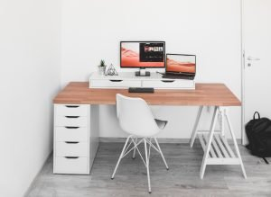 Don't neglect storage in your home office! Especially if you work from home.