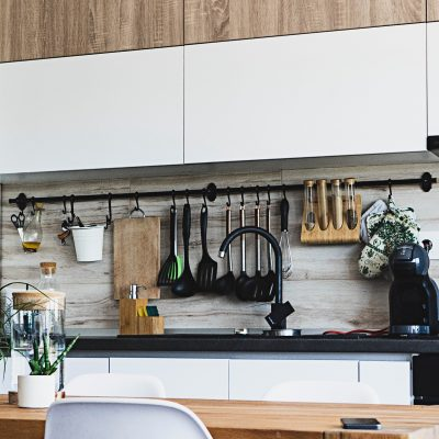 Storage in the kitchen doesn't need to be fancy, just useful!