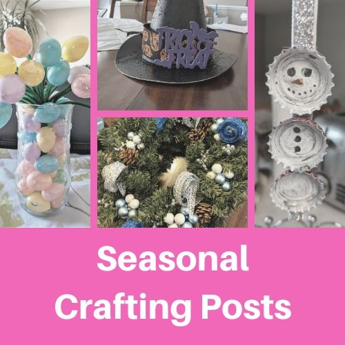 seasonal crafting button