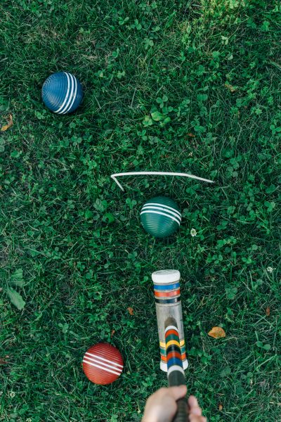 When I think yard games, I think croquet, but there are many other options!
