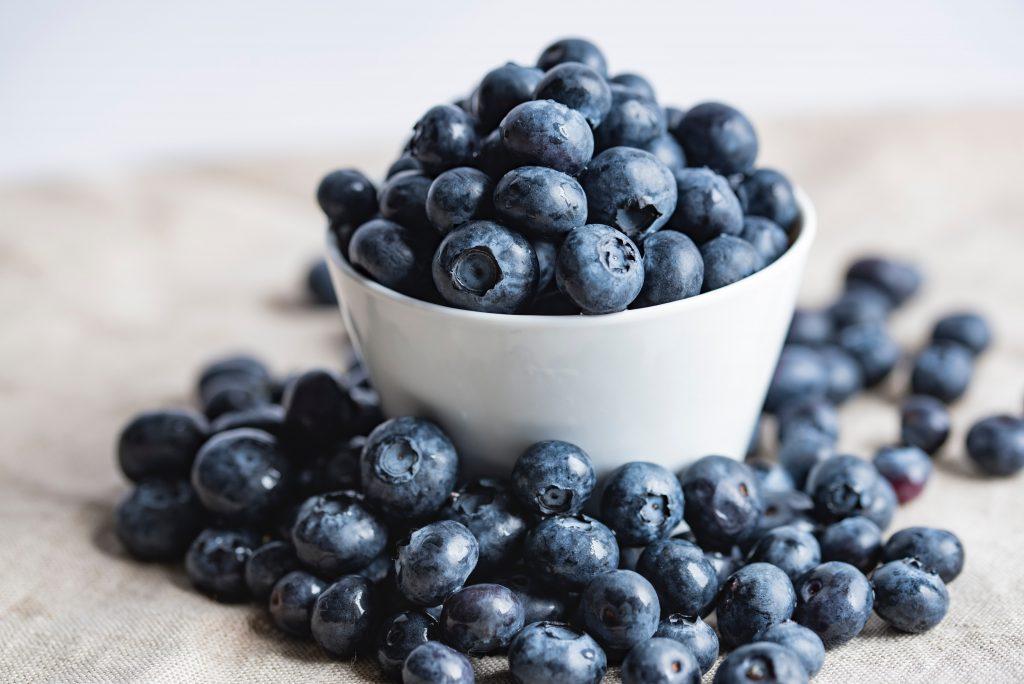 Blueberries make for an excellent summer dessert!