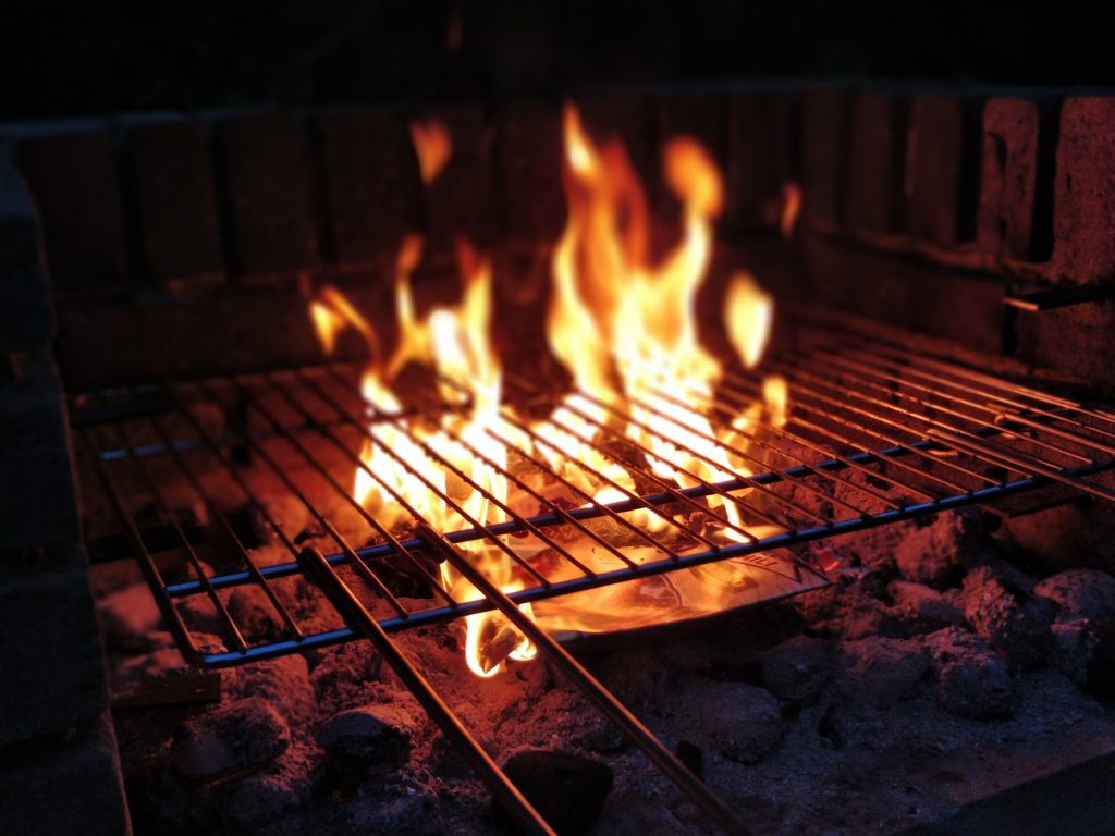In the summer, ditch the oven and try cooking on an outdoor grill!