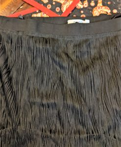 You can find most fringe like this in a fabric store, like Fabricland!